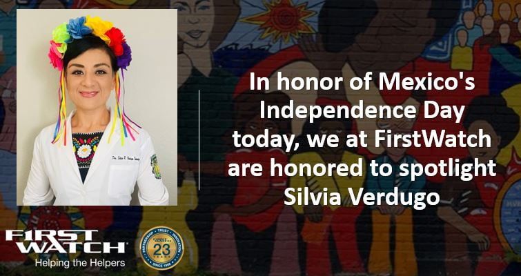 Silvia Verdugo-Mexico's Independence Day
